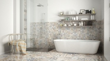 """9 tips to know to be able to """"mix and match"""" floor tiles"""