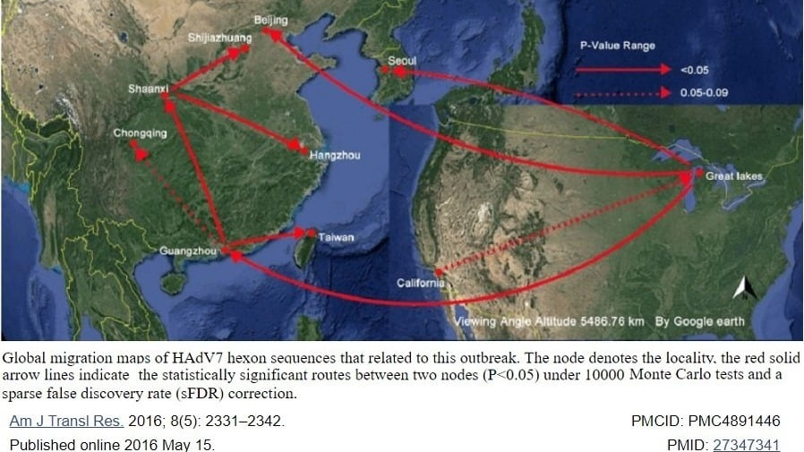 US media: CCP officers once drew a map of the virus transmission route to the US