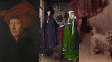 Decoding the symbolic details in the painting