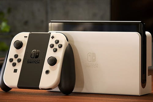 Meet the new Nintendo Switch, with 7-inch OLED screen