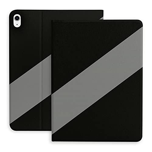 National Collection New Zealand Stripe Case for iPad Air 4 10.9 in with Pencil Holder Tablet Smart Cover Shockproof Adjustable Angle Stand TPU Shell