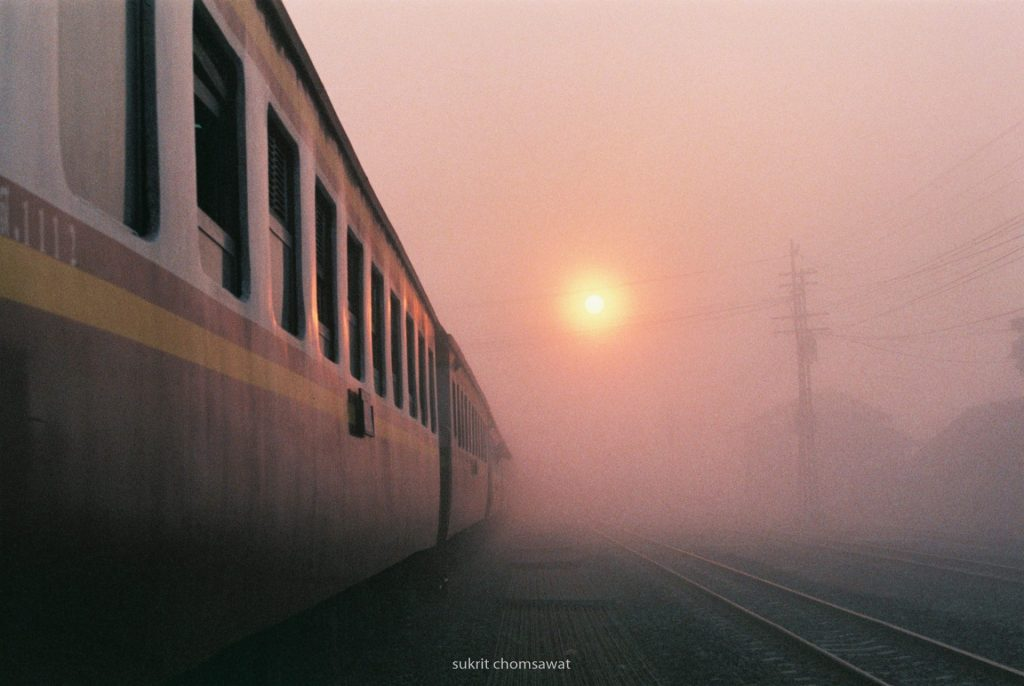 5 frames on the Thailand Northern Railway with Nikon SLRs - By Sukrit Chomsawat