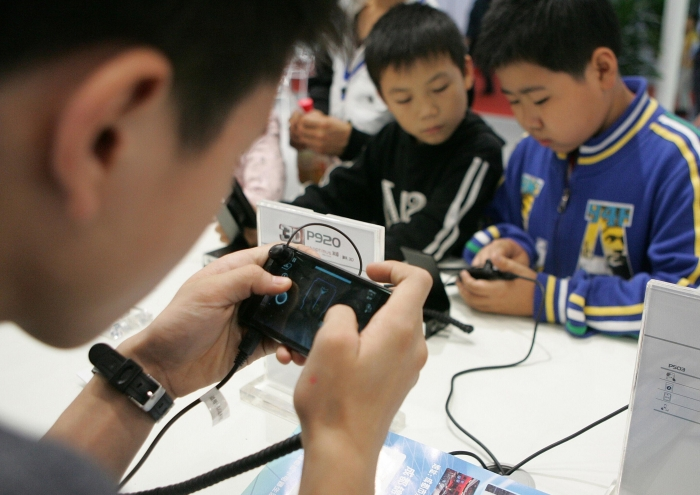 Appears technology to prevent people under 18 from 'plowing games all night'