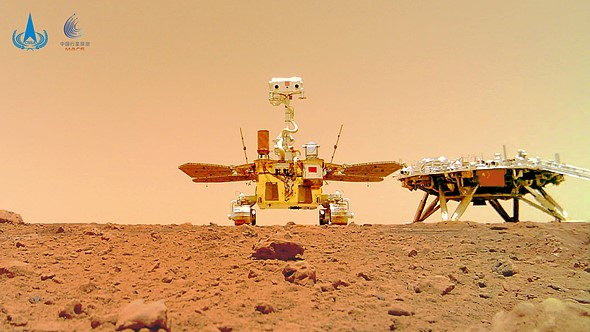 China shares video of its Zhurong Rover landing on Mars, marking country's first time on Martian surface: Digital Photography Review