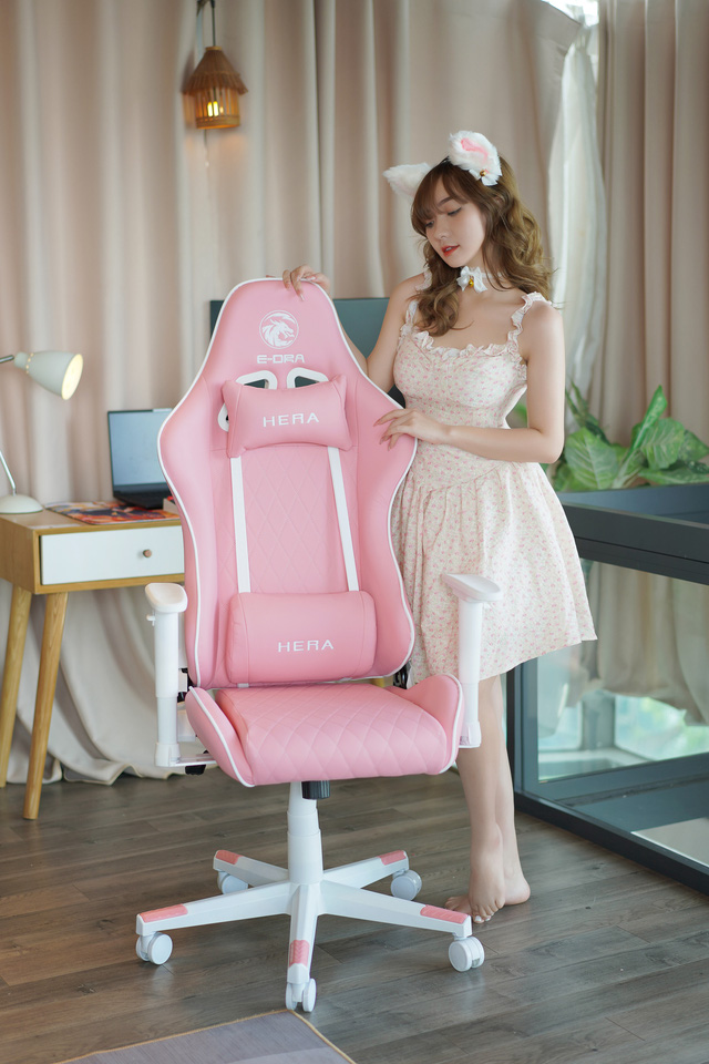 E-DRA Hera: Super cute super championship gaming chair for those who are looking for bear gifts - Photo 1.
