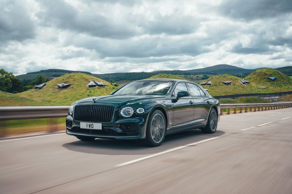 Flying Spur will be Bentley's second model with hybrid technology