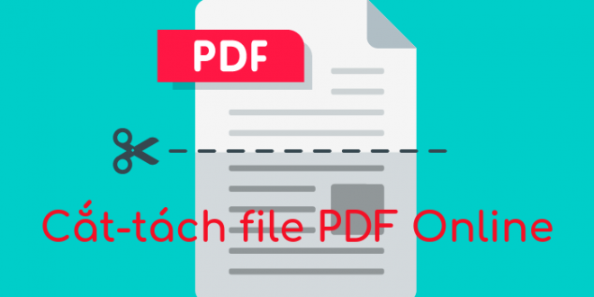 How to cut and split PDF files Online fast, easy, no software needed