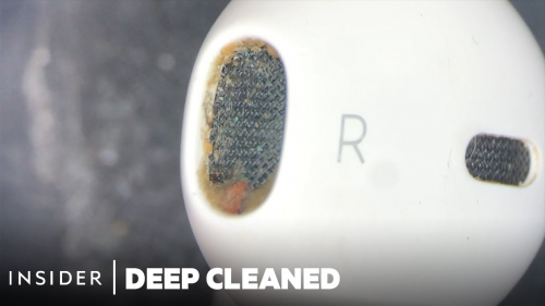 """Instructions for cleaning beautiful AirPods """"like new"""""""