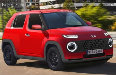 """2021.07.07.  7,937 reads    """"character-like appearance"""" Hyundai's 'AX1' rendering revealed, electric car models are also available!  motor desk 12"""