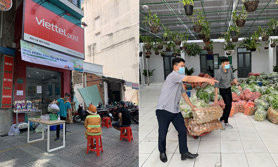Seashell opened 34 mobile stable sales points in Ho Chi Minh City - VnReview