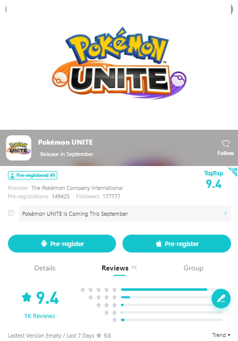 The community sobbed, the Pokémon Unite MOBA game received a full score of 9 with 10 - Photo 1.