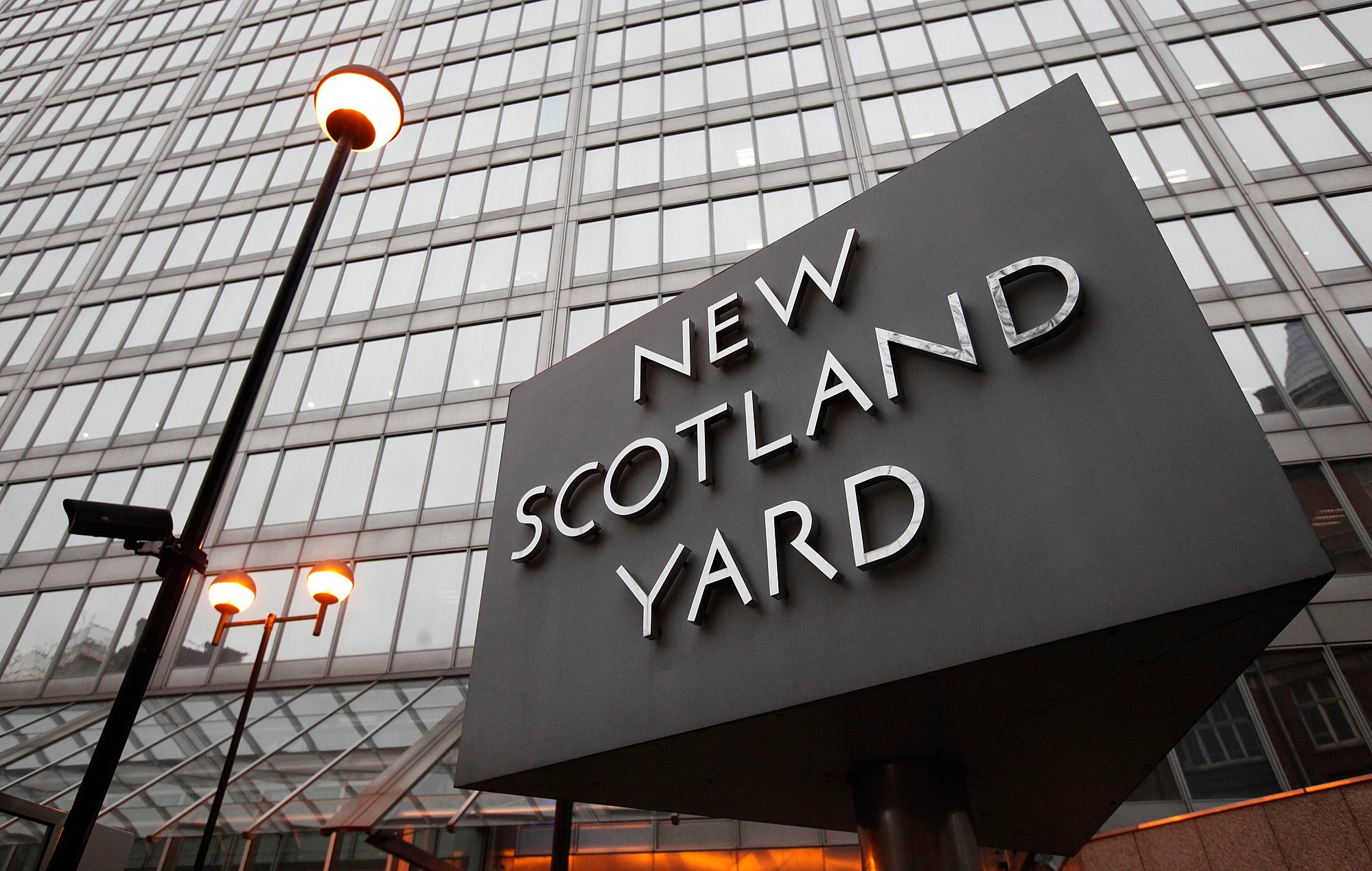 New Scotland Yard, London Metropolitan Police headquarters, is located in Westminster.  Photo: Reuters.