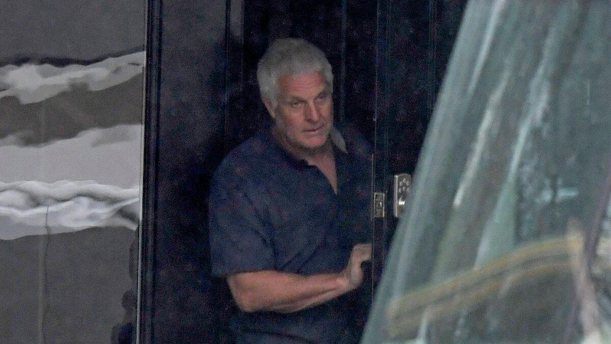 Charges of a sexual nature Dominique Laroche officially appeared