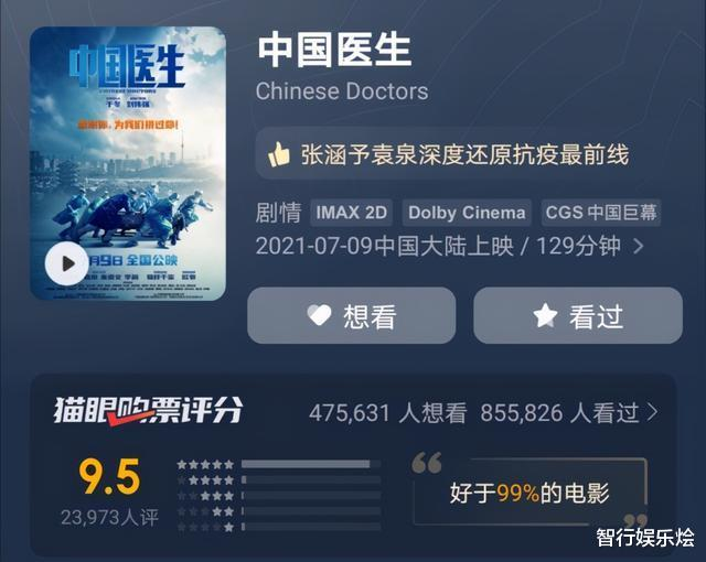 """Zhang Hanyu starring Liu Weiqiang directed """"Chinese Doctor"""", showing the power of China and healing the hearts of outsiders"""