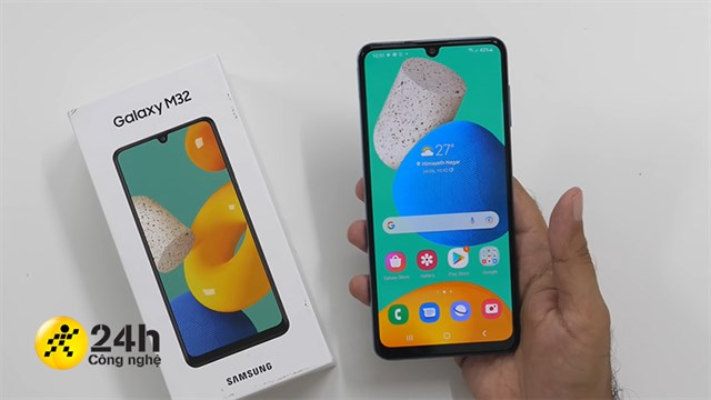 On hand Samsung Galaxy M32: Battery up to 6,000 mAh, super AMOLED screen, 90 Hz refresh rate and price from only 4.6 million * 8 hours ago