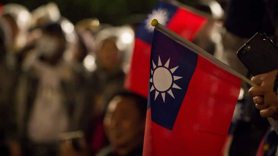 """Taiwan asks US not to cause """"misunderstanding"""" after White House deletes tweet with Taiwan flag"""