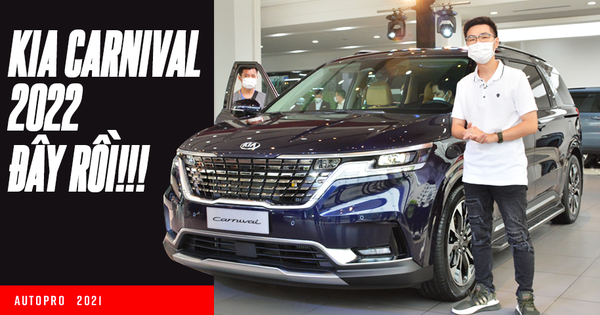 """Experience Kia Carnival 2022 'full' version, diesel engine in Vietnam: The king of large MPV sales changed, increasing the price by 150 million VND but endless """"option"""""""